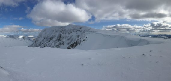 Ben Nevis In Winter