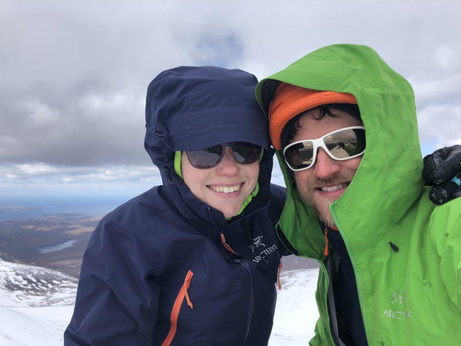 Summit shot on Sgurr Fiona