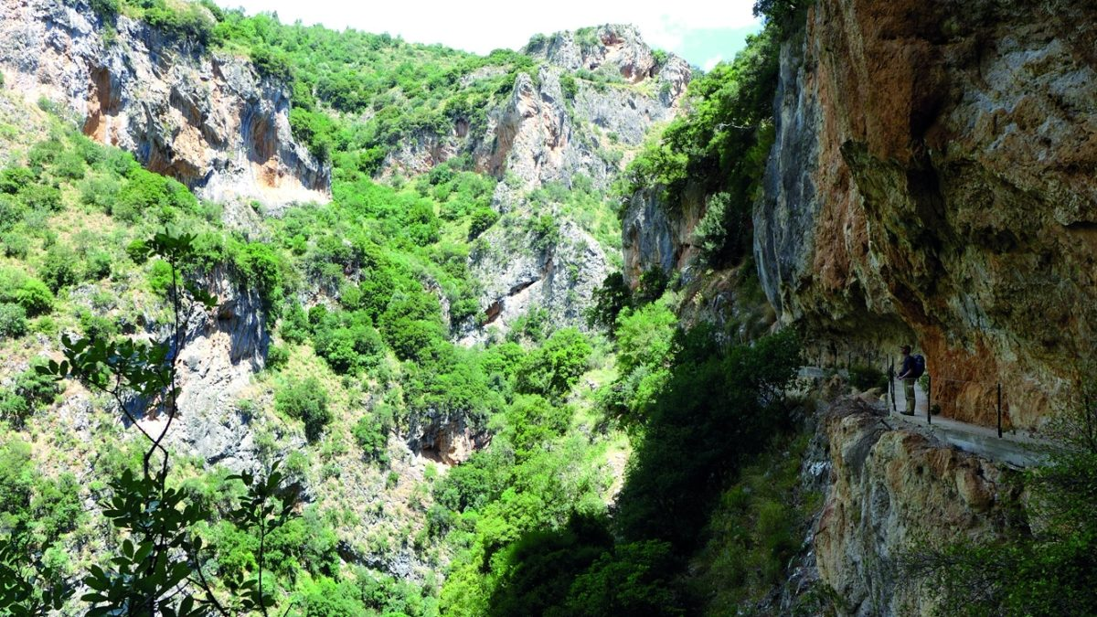 Langadhiotissa Gorge - The Vertiginous Section