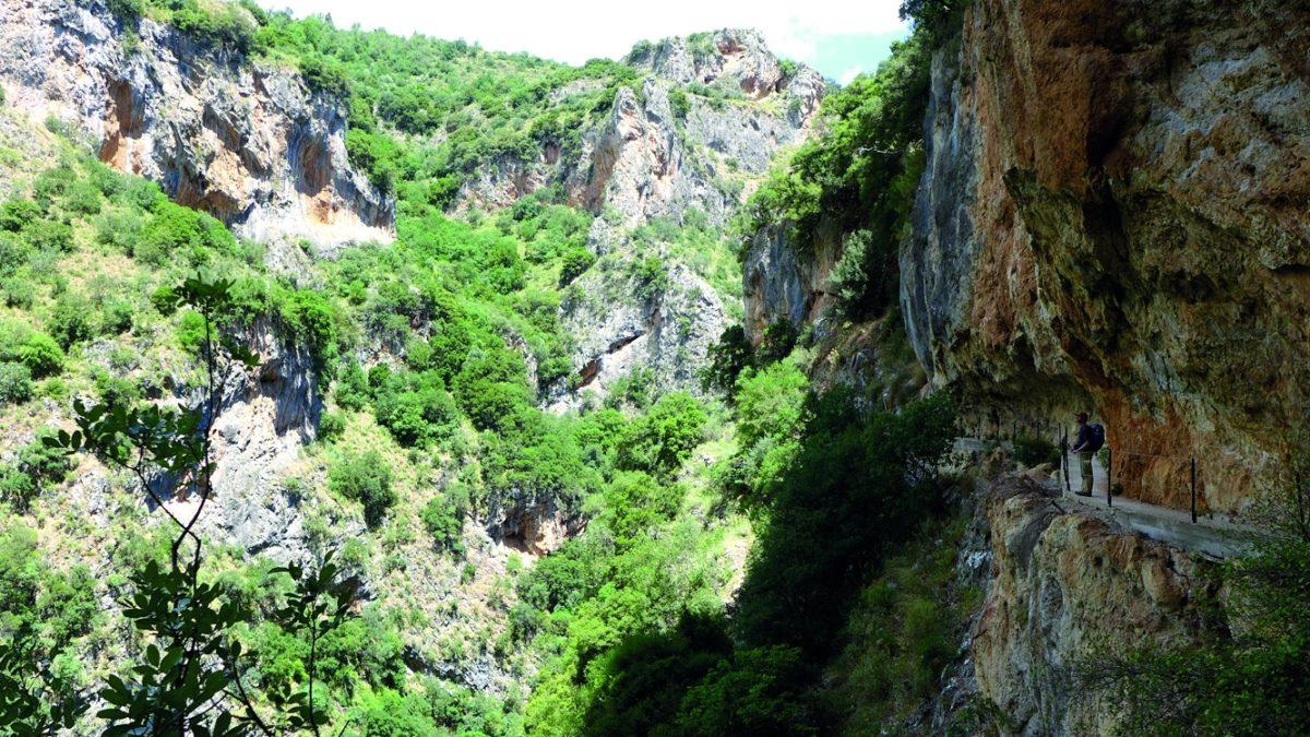 Langadhiotissa Gorge - The Vertiginous Section
