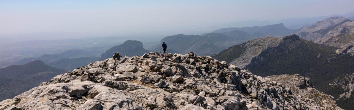 Arriving On Massenella's Summit Plateau