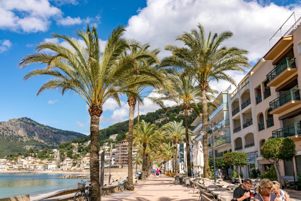 The Seafront At Port De Soller
