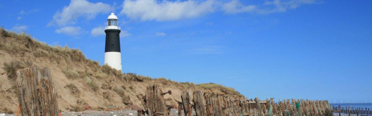Banner Former Sea Defences On Spurn Head
