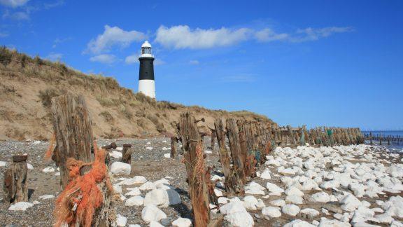 Former Sea Defences On Spurn Head