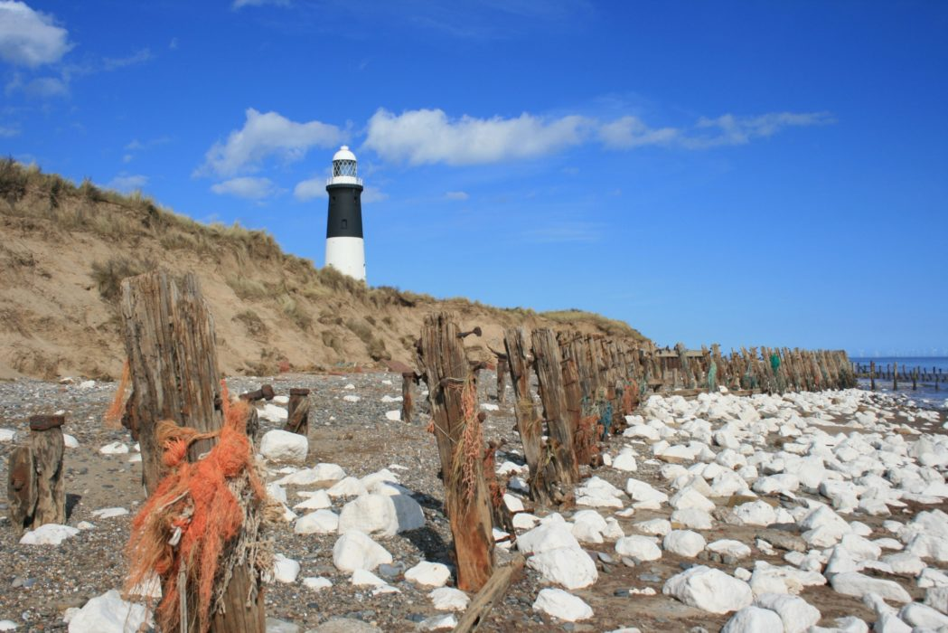Former Sea Defences On Spurn Head
