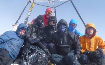 Summit Of Jebel Toubkal DSRT Team