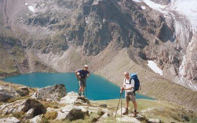 The Stubai Alps Above The Brenner Hutte