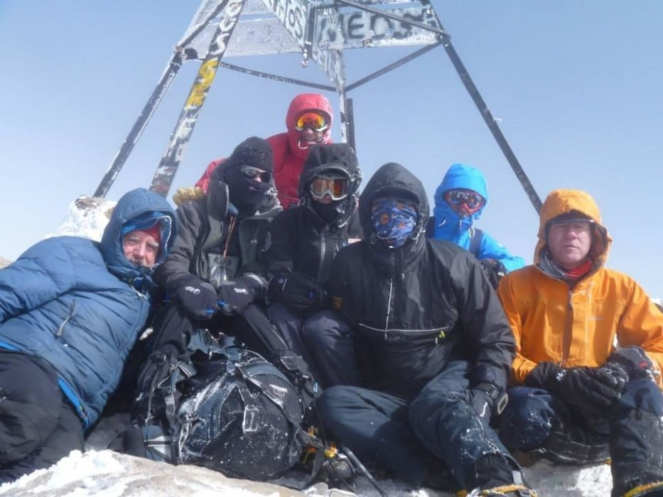 Summit Of Jebel Toubkal DSRT Team