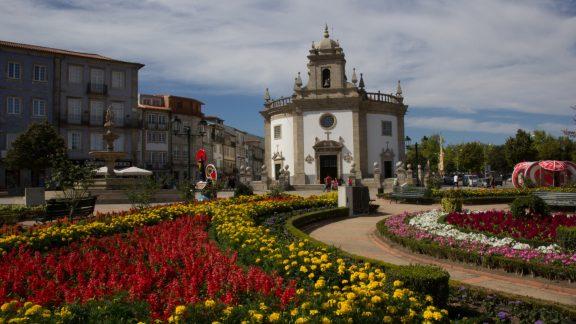 Central Camino: Igreja De Bom Jesus Da Cruz In Barcelos