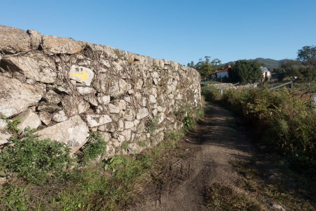 Central Camino: Country Lanes Near Vitorino Dos Piaes