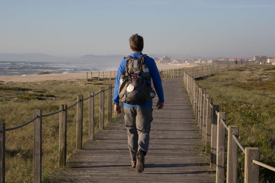 Coastal Camino: Boardwalk Between Vila Do Conde And Esposende