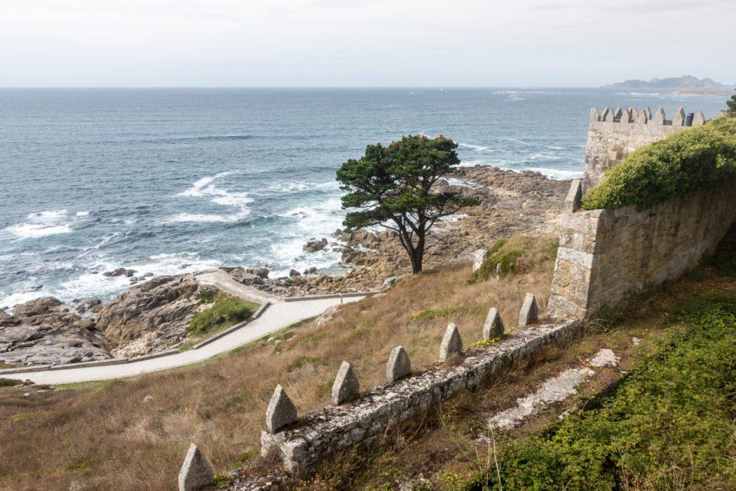 Coastal Camino: Fortaleza De Monterreal Walls, Baiona