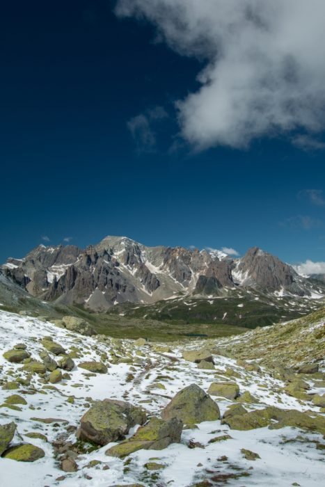 The Magnificent Massif Des Cerces Seen From High Above The Clarée Valley