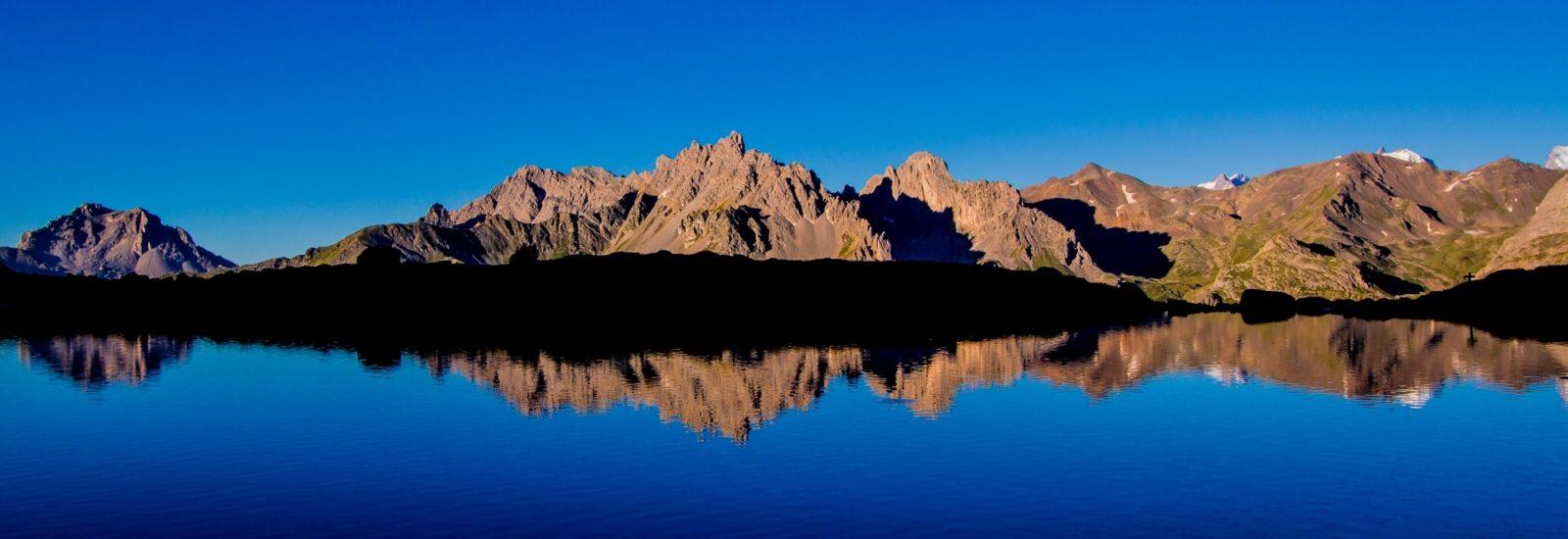 A Wonderfully Clear Morning At Lac Laramon