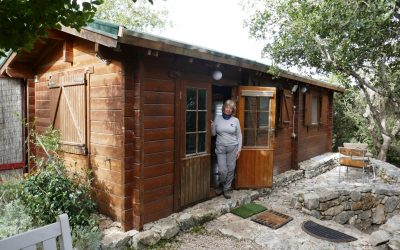 P004 Overnight Accommodation In Abirim Was In A Luxury Wooden Cabin