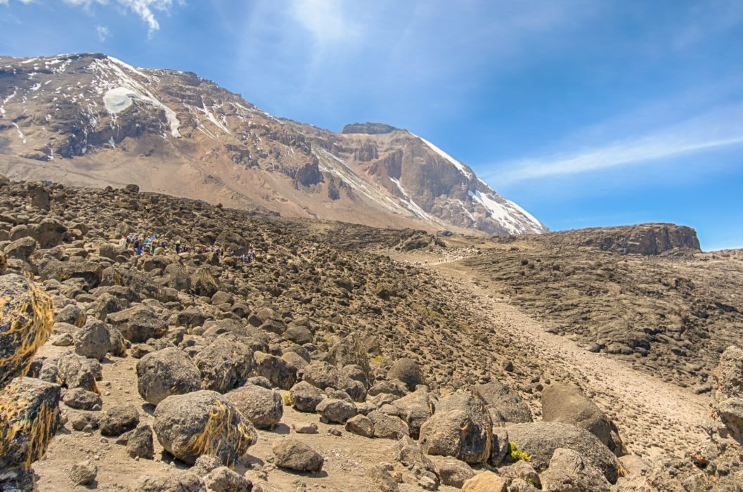 122 Kibo Cone From Shira Plateau On The Machame Route By Steve Lagreca And Shutterstock