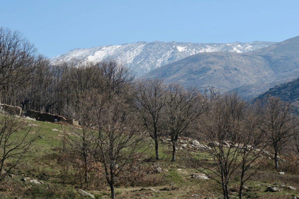 The Sierra de Tormantos