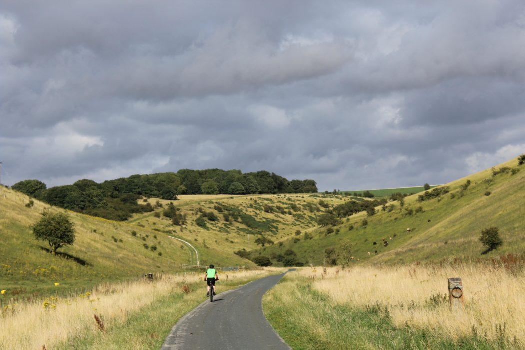 In the winding dry valleys of the Yorkshire Wolds