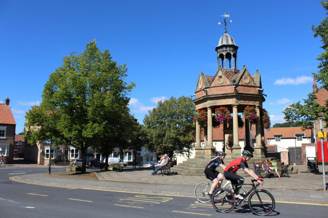 Relishing the easy miles at Boroughbridge