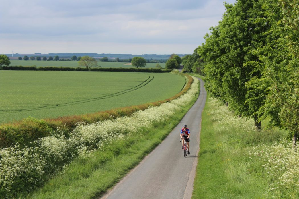 The miles fly by on the final section of the route from the Yorkshire Wolds into Bridlington