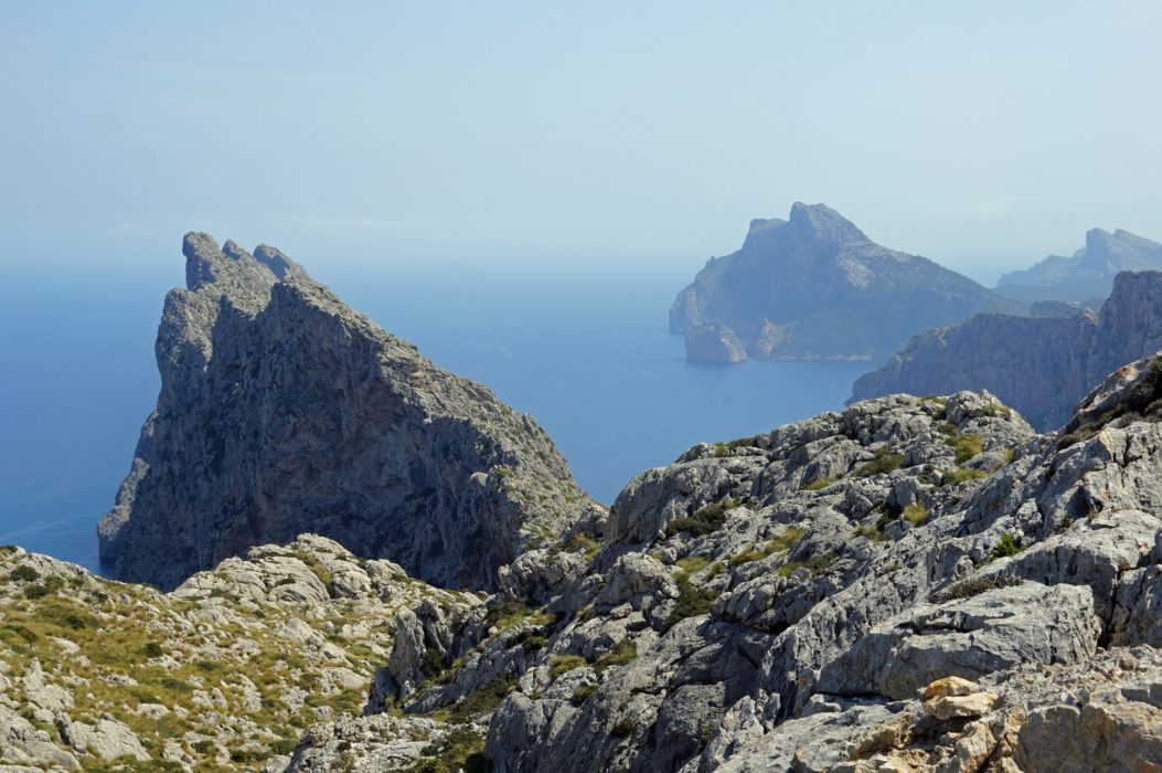 The Serra del Cavall Bernat offers a seriously exposed and sustained scramble