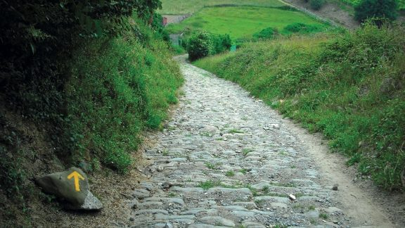 The medieval road to Zarautz