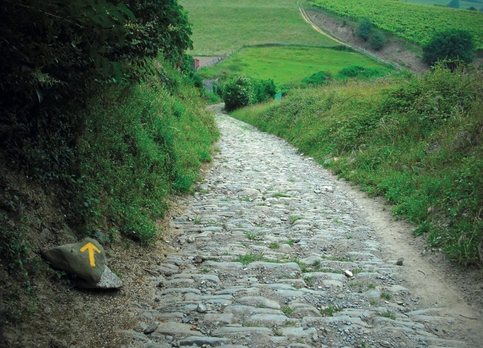 The medieval road to Zarautz