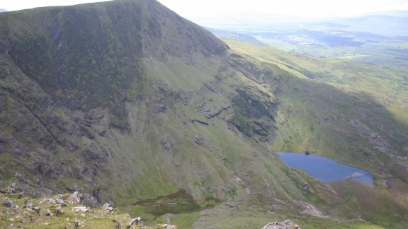 Section One: Knockmoyle from Coomura mountain