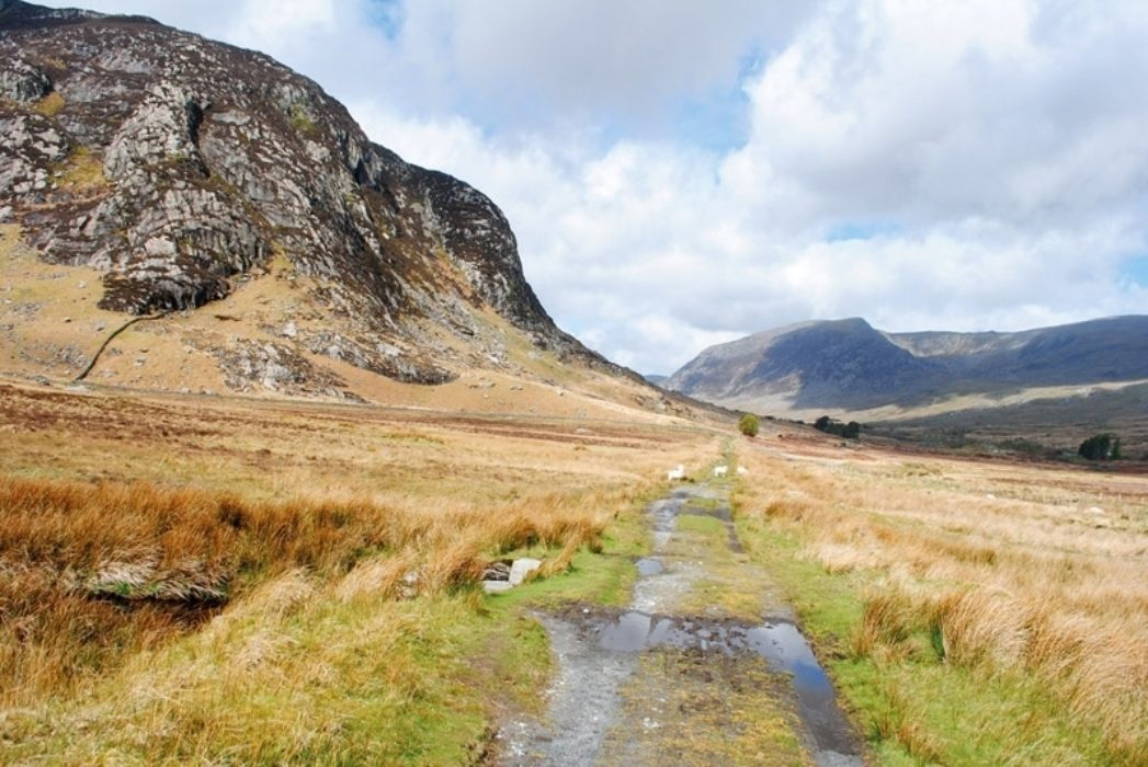 The entrance to Ogwen Valley