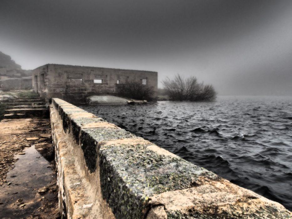 Minas de Carris lagoon