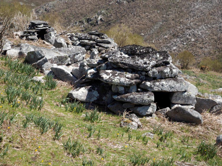 Herders' abrigo shelters at Branda dod Bicos