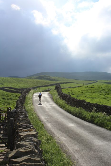 The exhilirating descent to Airton