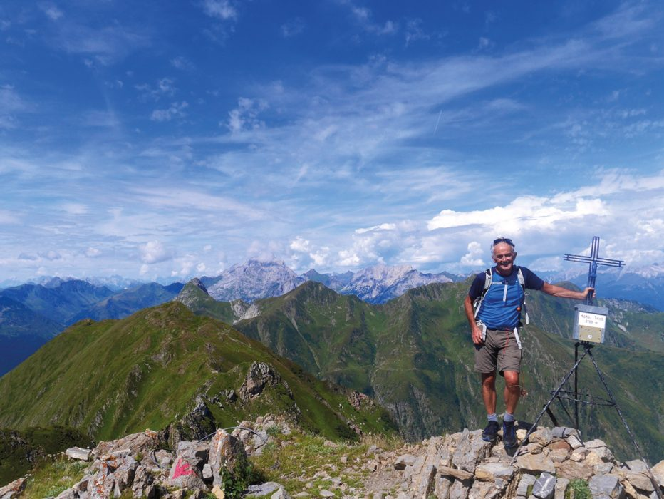 On top of Hoher Trieb