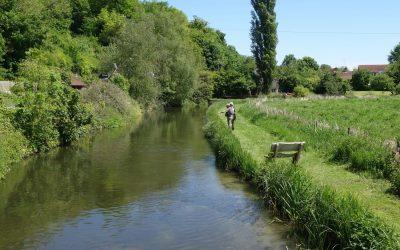 Fishing at Wherwell