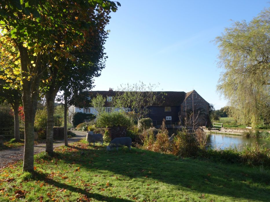 Bere Mill before the fire