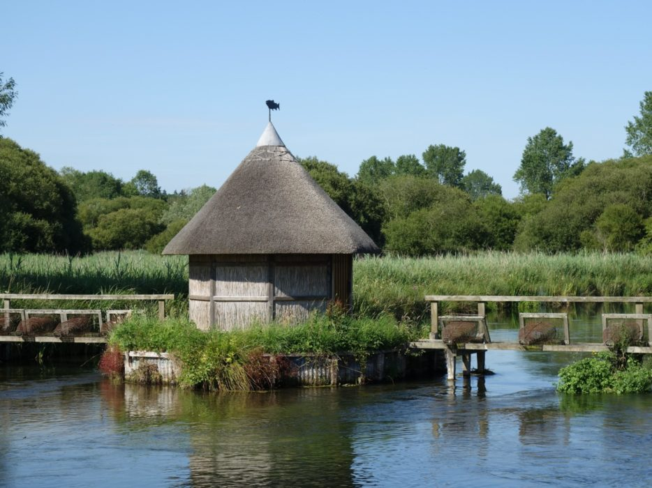 Fisherman's hut at Longstock