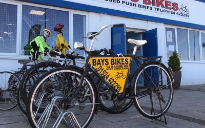 Bay Bikes shop on Morecambe Prom