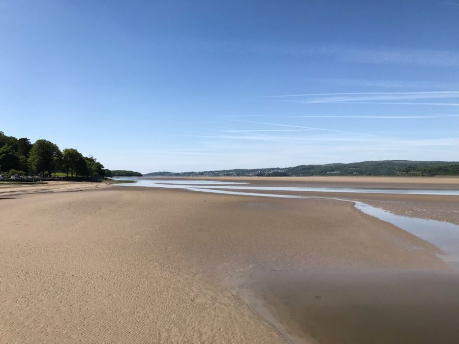 Kent Estuary from Arnside Prom