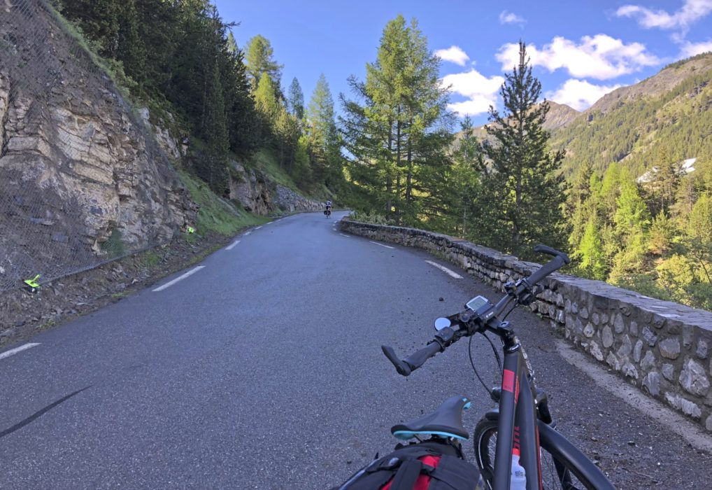 Near the summit of Col de Vars
