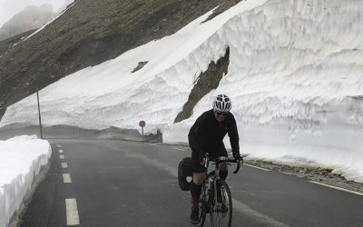 Final Few Metres Before The Top Of The Galibier