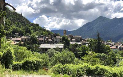 The Village Of Valdeblore En Route For The Col De St Martin