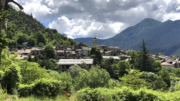 The Village Of Valdeblore En Route For The Col De St Martin