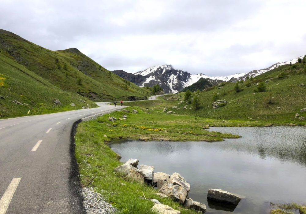The Final Few Kilometres Of The Col De Vars Are Delightful