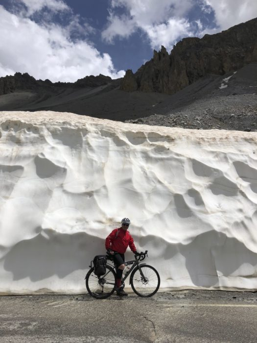 Walls Of Snow On The Izoard