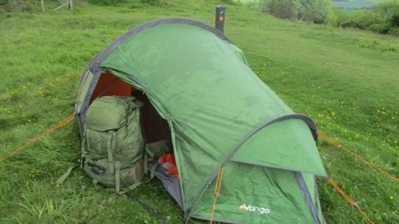 My Tent On The Ridgeway Just Above Princes Risborough