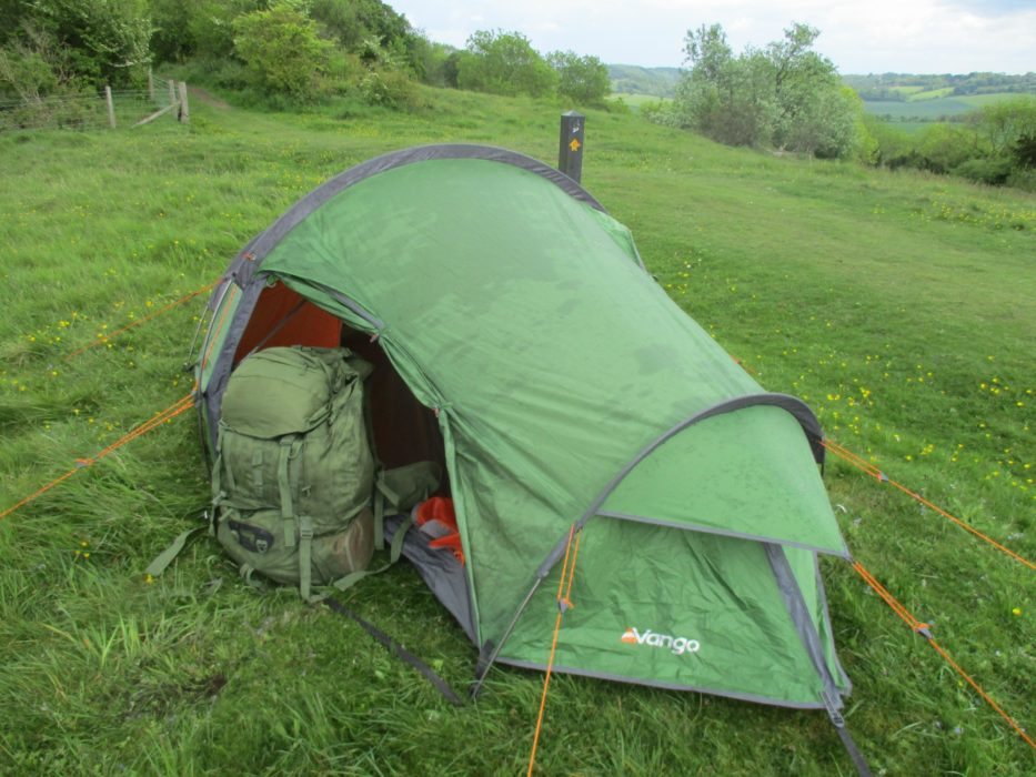 My Tent On The Ridgeway Just Above Princes Risborough