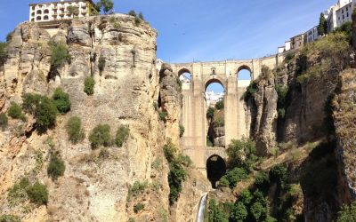 Ronda's famous gorge and Puente Nuevo
