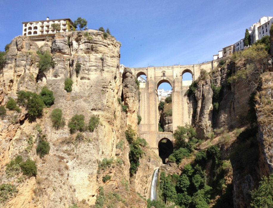 Ronda's famous gorge and Puente Nuevo