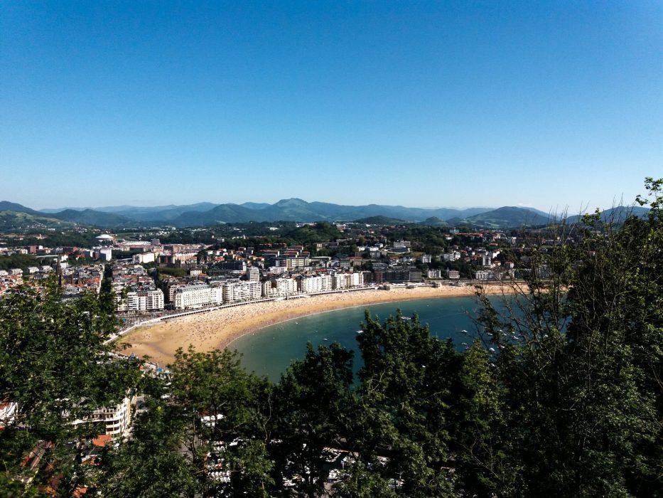 Day 3. San Sebastian from Monte Urgull