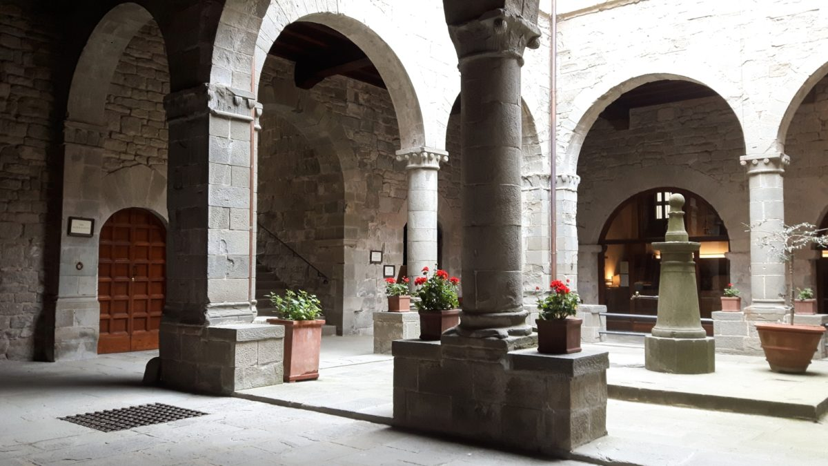 Cloisters of the Camaldoli Monastery